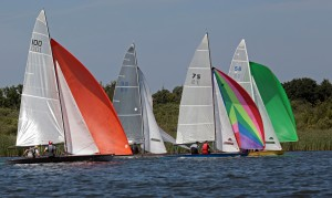 Fleet at Club Champs Sat. Poto by Robin Myerscough
