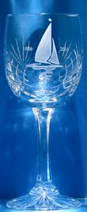 _FTB1807 C25 Cut Lead Crystal Wine Glass